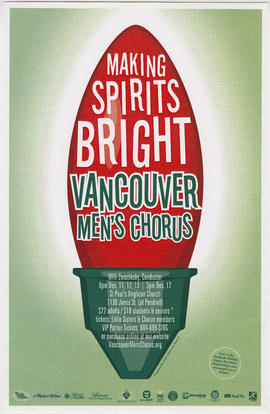 Making spirits bright : Vancouver Men's Chorus