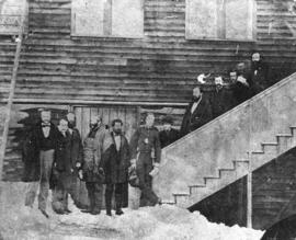 The First Legislative Assembly, New Westminster, British Columbia
