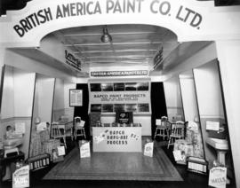 British America Paint Co. display of BAPCO paint products
