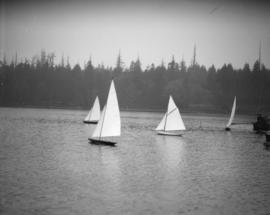 [Taken for the] Province - model yachts at Lost Lagoon