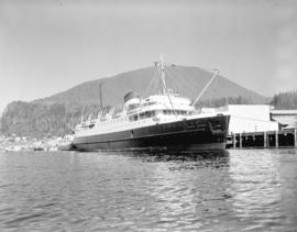 "C.N.S.S. ""Prince George"" [at dock]"