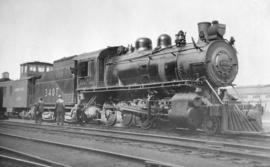 [C. P. R. Steam Eng. #3407]