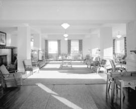 [Interior view of the lobby of the] Martin Hotel, Ocean Falls