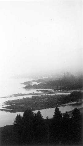 [View from the Lions Gate (First Narrows) Bridge]
