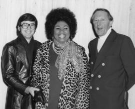 Ron McDougall, Leontyne Price and Hugh Pickett