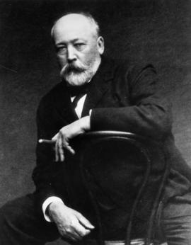 W.C. Van Horne [with cigar]