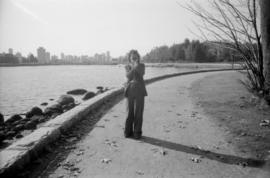Photographer on Stanley park seawall