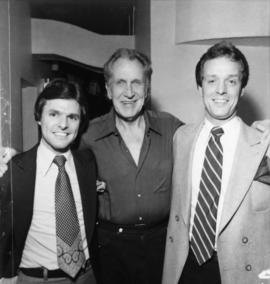 Larry Beasley, Vincent Price and Sandy Logan