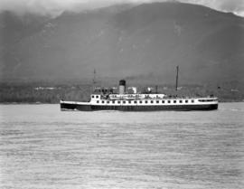 [The 'Lady Cynthia' in Vancouver harbour]