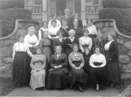 [The St. Andrews' and Caledonian Society sewing group]