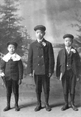 [Chang Toy's three sons]