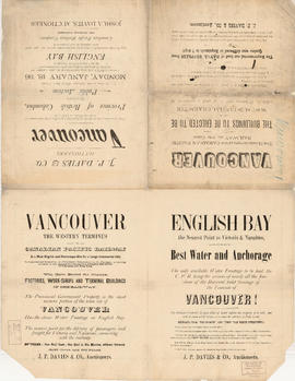 Advertisements for Vancouver real estate