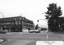 Burrard [Street] and 16th [Avenue looking] north