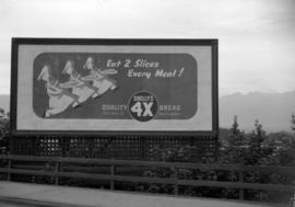 [Billboard for Shelly's 4X Bread]