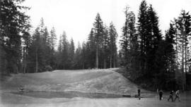 Golfers on the Capilano Golf Course