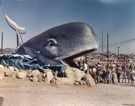"Willie the Whale, part of the ""Maritime Festival"" theme of P.N.E. 1961"