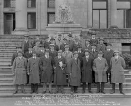 3rd Annual Convention B.C. Branch C. S. T.A. Vancouver, B.C. Mar. 22-23, 1923 [on the Court House...