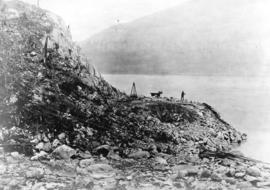 [Buntzen Lake Dam construction]