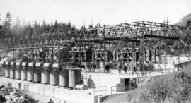Outdoor switching station West Kootenay Power Co[mpany,] Bonnington