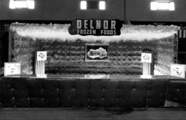 Delnor display of frozen foods