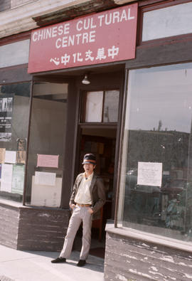 Patrick Chen at 313 East Pender Street [Chinese Cultural Centre]