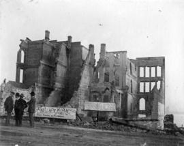 [Buildings after New Westminster fire]