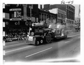 Annacis Industrial Estate float in 1956 P.N.E. Opening Day Parade