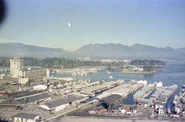 British Columbia - Vancouver skyline : view from north side of Westcoast bldg