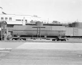 [Railroad cars at Canadian Pacific Coast Services Pier C]