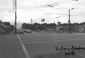 Victoria [Drive] and Broadway [looking] north