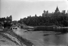 Parliament Buildings from bridge, Ottawa