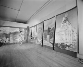 Pix of murals for H.B.Co. [Hudson's Bay Company]