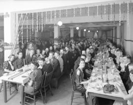 Duffus School [of Business dinner at] Alma Academy [3695 West Broadway]