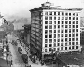 [View of the east side of the 400 Block of Granville Street]