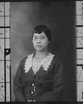 Portrait of [Ho Chan Shee], mother of Lillian Wong