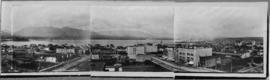 [Panoramic view looking north from the Hotel Vancouver]