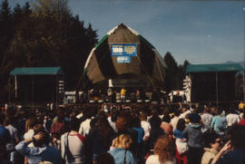 View of the Malkin Bowl stage