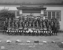 St. George's School Boy Scout Troop - 1954-1955