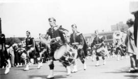 [Dominion Day parade on West Pender Street?]