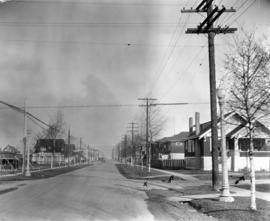 [Heather Street at 19th Avenue looking north]