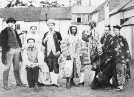 Amateur Group in Costume for Bombastes