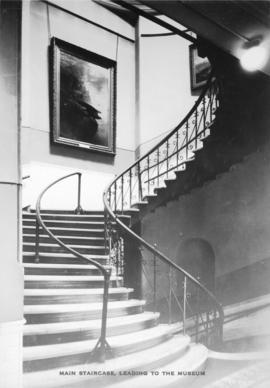 Main staircase leading to the [Vancouver] museum