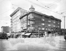 [View of the 1200 block of Granville Street from Davie Street]