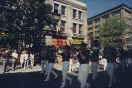 Vancouver Fire Department Band marching