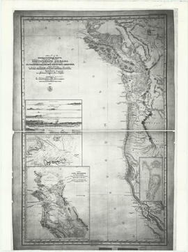 Chart of the eastern Pacific Ocean