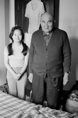 Cindy Chan Piper with Jumbo Wong of Cumberland, B.C.