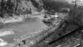 Board of Trade trip, Okanagan and Kootenays : The Penstock