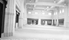 Vancouver [Canadian Northern Railway] station [interior of] main waiting room