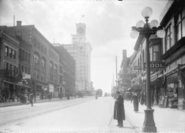 [View of Granville Street, looking south from Dunsmuir Street]