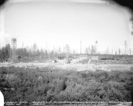 [Horne Payne substation construction site, viewed from the west]